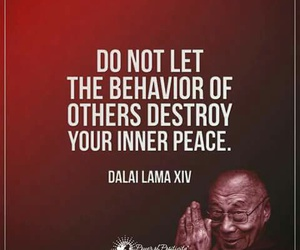 peace, positivity, and quotes image