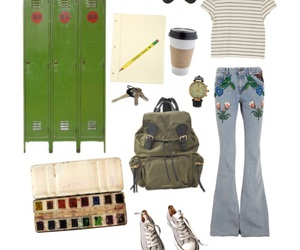 Polyvore, school, and spring image