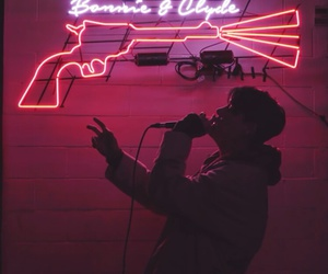 dean, neon, and aesthetic image