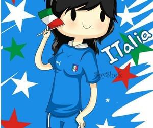 girl, italia, and animaciones image