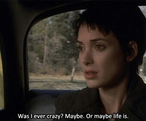 movie, crazy, and girl interrupted image