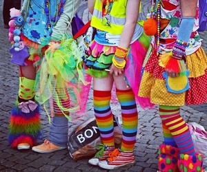 colors, style, and decora girls image