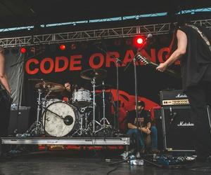 band, music, and code orange image