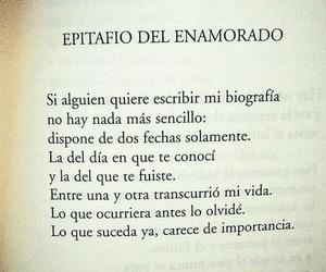 olvido, fecha, and love image