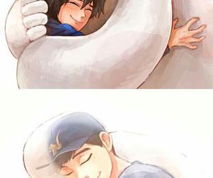 tadashi, hiro, and baymax image