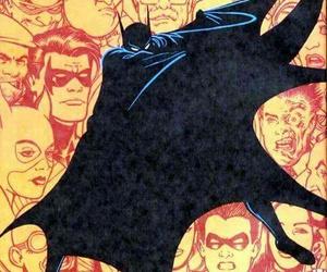 batman, dc comics, and comic books image