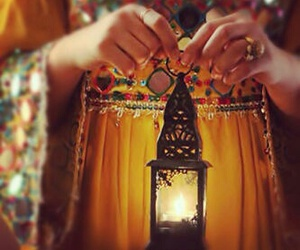 Ramadan, lantern, and light image