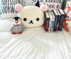 bedroom, bookish, and books image