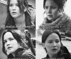 the hunger games, catching fire, and katniss everdeen image