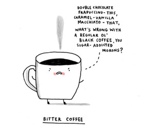 coffee and bitter image