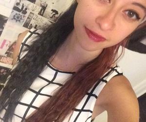 eye makeup, lipstick, and hispanic image