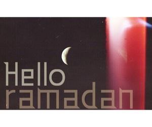 hello, Ramadan, and رَمَضَان image