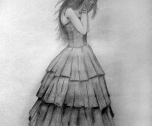 fallen, drawing, and draw image