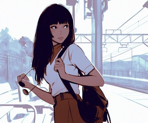 art, cute, and girl image