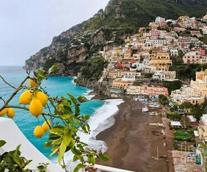 country, italy, and positano image