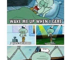 quote, squidward, and funny image