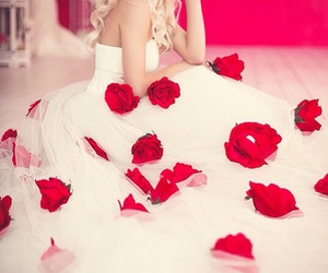 beautiful, bouquet, and luxury image