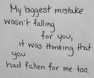 mistakes
