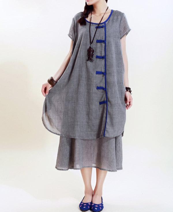 babydoll, etsy, and maxi long dress image