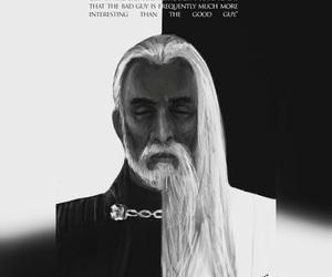 christopher lee, star wars, and saruman image