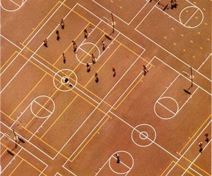 Basketball, court, and geometry image