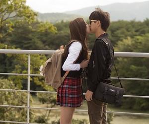 drama, kiss, and Korean Drama image