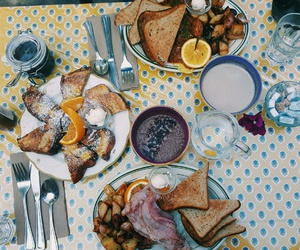 breakfast, foodporn, and frenchfood image