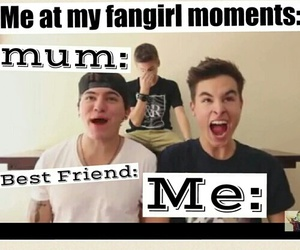 funny, fangirl, and jc caylen image
