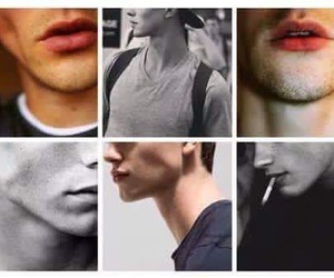 boy, lips, and Hot image