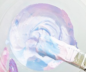 pastel, blue, and pink image