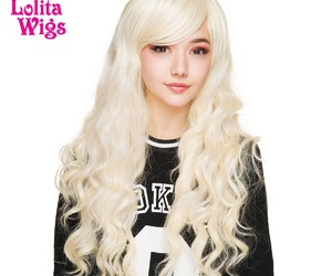 curly hair, long hair, and wigs image
