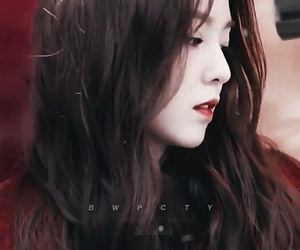 beauty, red, and red velvet image