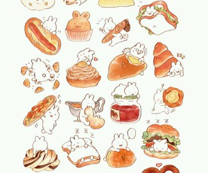 food and bunny image