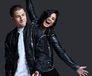 demi lovato and nick jonas image