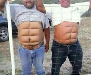 funny, lol, and sixpack image