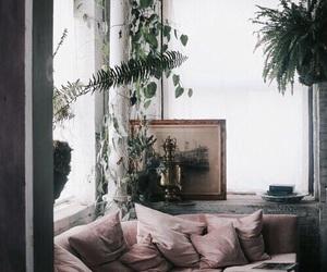 canape, light, and minimalist image