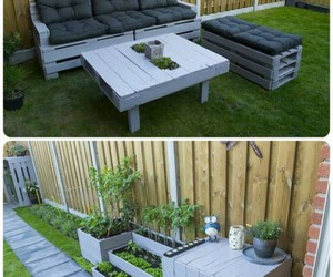 pallet furniture, pallet furniture plans, and pallet decor crafts image