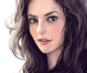 art, KAYA SCODELARIO, and drawing image