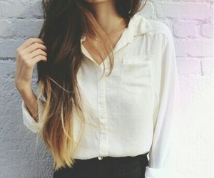 girl, hair, and outfits image