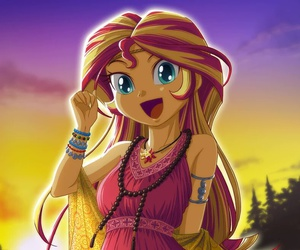 equestria girls and sunset shimmer image