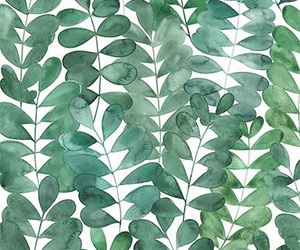 art, green, and patterns image