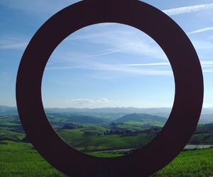 circle, volterra, and italy image