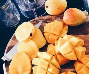 mango, fruit, and food image