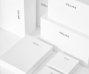white, celine, and aesthetic image