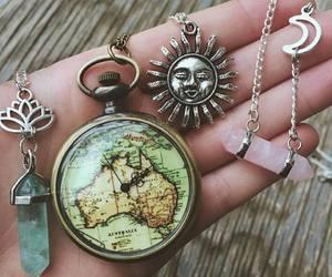 sun, crystal, and moon image