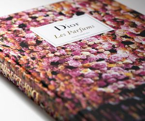 book, perfumes, and dior image