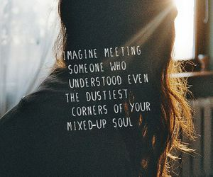 quote, soul, and imagine image