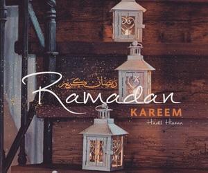 رَمَضَان, lantern, and Ramadan image