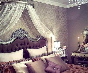 bedroom, decor, and modern image