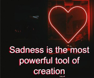 heart, quotes, and red image